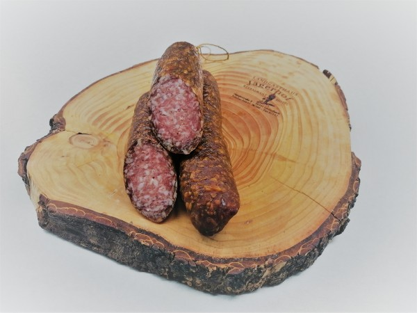Cervelatwurst / grobe Salami vom Schwein